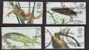 2001-07-10 Pond Life Stamps Cheap Used Set (66358)