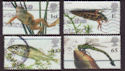 2001-07-10 Pond Life Stamps Cheap Used Set (66363)