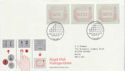 1984-05-01 Postage Labels Stamps London FDC (66385)