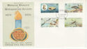 1979-02-27 IOM Natural History Stamps FDC (66407)