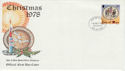 1978-10-18 IOM Christmas Stamp FDC (66438)