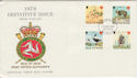 1978-10-18 IOM High Value Definitive Stamps FDC (66440)
