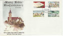 1975-10-29 IOM Manx Bible Stamps FDC (66452)