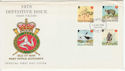 1978-10-18 IOM High Value Definitive Stamps FDC (66454)