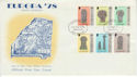 1978-05-24 IOM Europa Manx Crosses Stamps FDC (66457)
