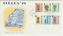 1978-05-24 IOM Europa Manx Crosses Stamps FDC (66458)