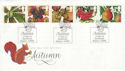1993-09-14 Autumn Stamps Hazelwood Skipton FDC (66471)