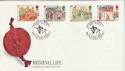 1986-06-17 Medieval Life Stamps Battle E Sussex FDC (66492)