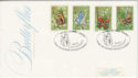 1981-05-13 Butterflies Stamps Bramber FDC (66512)