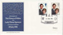 1981-07-22 Royal Wedding Stamps St Pauls EC4 FDC (66543)