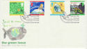 1992-09-13 Green Issue Stamps Aviemore Inverness FDC (66547)