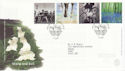 2000-07-04 Stone and Soil Stamps Killyleagh FDC (66624)