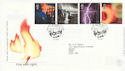 2000-02-01 Fire and Light Stamps Edinburgh FDC (66641)