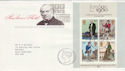 1979-10-24 Rowland Hill Stamps M/S Bureau FDC (66696)