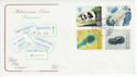 1999-03-02 Patients Tale Stamps Tredegar FDC (66703)