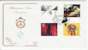 1999-01-12 Inventors Tale Stamps J Harrison Greenwich FDC (66706
