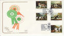 1991-01-08 Dog Stamps Crufts Birmingham FDC (66732)