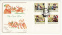 1992-06-16 The Civil War Stamps Huntingdon FDC (66733)
