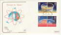 1991-04-23 Europe in Space Stamps London BNSC SW1 FDC (66736)