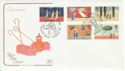 1996-10-28 Christmas Stamps Jerusalem Lincoln FDC (66738)