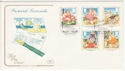 1994-04-12 Pictorial Postcards Stamps Brighton FDC (66739)