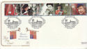 1992-02-06 Accession Stamps Balmoral Castle FDC (66740)