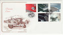 1996-10-01 Classic Cars Stamps MG Swavasey FDC (66743)