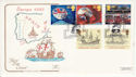1992-04-07 Europa Events Stamps Portsmouth FDC (66762)