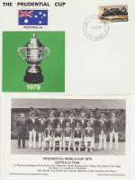 1979-06-01 Cricket Prudential Cup Australia Souv (67741)