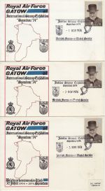 1974-11-03 Royal Air Force Gatow Exhibition Souv x3 (68781)