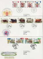 1984 Bulk Buy x9 Special Postmark FDC From 1984 (69102)