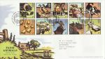 2005-01-11 Farm Animals Stamps Paddock FDC (69133)