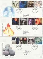2000 Bulk Buy x12 Bureau FDC From The Year 2000 (69186)