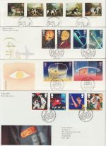 1991 Bulk Buy x 8 Bureau FDC From The Year 1991 (69536)