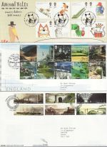 2006 Bulk Buy x14 FDC From 2006 With Special Pmks (69655)