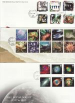2007 Bulk Buy x 14 FDC From 2007 With cds Postmarks (69753)