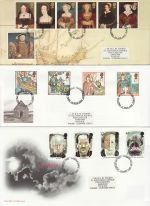 1997 Bulk Buy x9 First Day Covers With Fareham Pmks (70877)