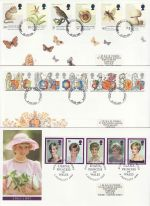 1998 Bulk Buy x10 First Day Covers From 1998 (70878)