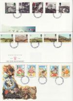 1994 Bulk Buy x9 First Day Covers With Fareham Pmks (70911)