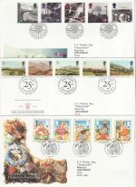 1994 Bulk Buy x9 First Day Covers With Bureau Pmks (71124)