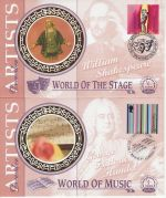 1999-12-07 Artists Tale Stamps Set of 4 Silk FDC (71113)