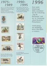 1996-08-14 Germany The Day of Stamps FDC (71240)