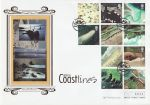 2002-03-19 Coastlines Stamps Studland Swanage FDC (71483)