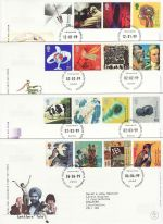 1999 Bulk Buy x12 Millennium From 1999 Bureau FDC (72973)