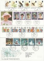 1998 Bulk Buy x10 FDC from 1998 Bureau Pmks (72974)