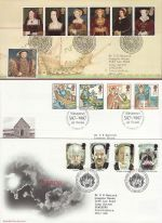 1997 Bulk Buy x9 FDC From 1997 With Bureau Pmk (72975)