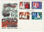 1975-06-11 Sailing Stamps Windsor FDC (73140)