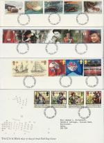 1992 Bulk Buy x8 FDC From The Year 1992 (73510)