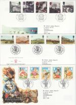 1994 Bulk Buy x9 First Day Covers With Special Pmks (73810)