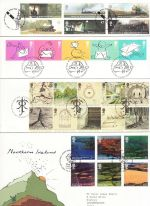 2004 Bulk Buy x12 First Day Cover With T/House Pmks (73883)